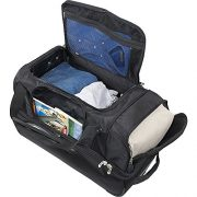 Denco-Sports-Luggage-NBA-Portland-Trailblazers-27-Rolling-Drop-Bottom-Duffel-0-0